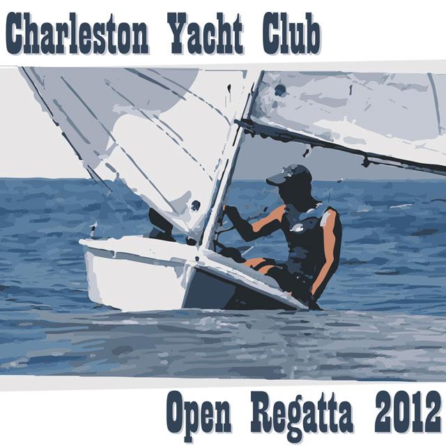 ChYC 2012 Open Regatta T-shirt Design - Concept 3